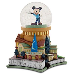 D23 Membership Exclusive Walt Disney Studios Snowglobe