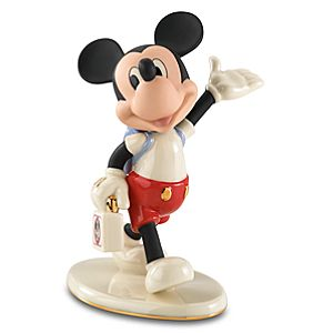 Mouseketeer Days Mickey Mouse Figurine by Lenox