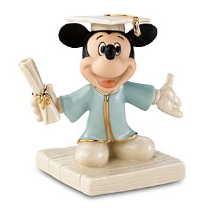 Mickeys Graduation Day Mickey Mouse Figurine by Lenox