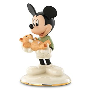 Well Wishes Mickey Mouse Figurine by Lenox