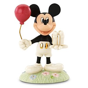Mickeys Birthday Gift Mickey Mouse Figurine by Lenox