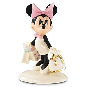 Minnies Shopping Spree Minnie Mouse Figurine by Lenox