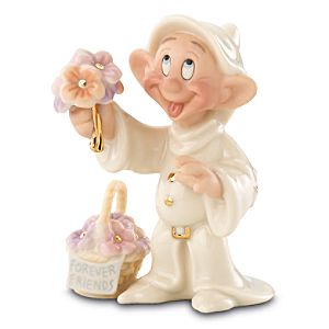 Dopeys Gift of Friendship Dopey Figurine by Lenox