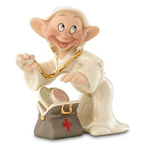 Dopeys Well Wishes Dopey Figurine by Lenox