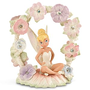 Limited-Edition ''Tinker Bell's Magical Garden'' Tinker Bell Figurine by Lenox