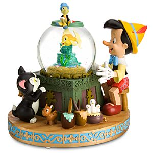Fishbowl Pinocchio Snowglobe