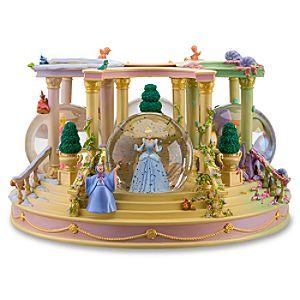 Seasons Disney Princess Snowglobe