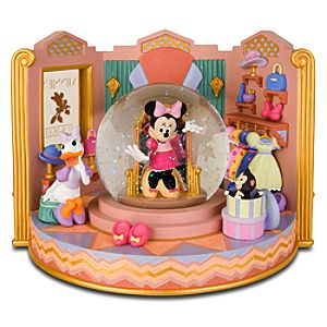 Minnies Bow-Tique Minnie Mouse Snowglobe