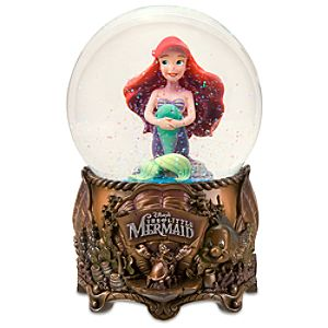 Small The Little Mermaid Snowglobe