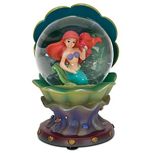 Mini Clam Shell Ariel Snowglobe