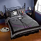 Products>Home & Decor>Bed & Bath>Bedding> - Jack Skellington Duvet Cover: Sizes