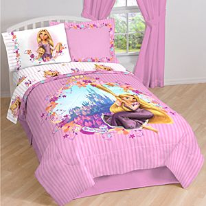 Tangled Rapunzel Comforter -- Twin