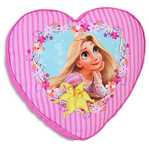 Decorative Tangled Rapunzel Pillow for Girls Rooms - Heart