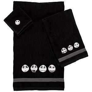 Jack Skellington Towel Set -- 3-Pc.