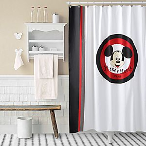 Mickey Mouse Club Shower Curtain