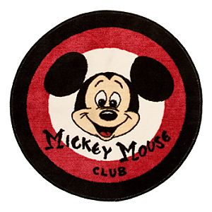 Mickey Mouse Club Bath Rug