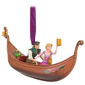Tangled Flynn and Rapunzel Ornament