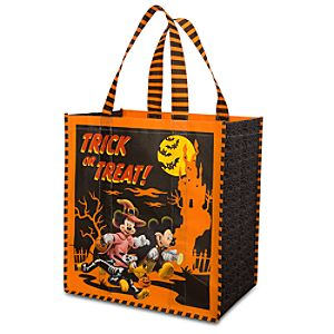 Reuseable Hallowen Mickey Mouse and Friends Tote