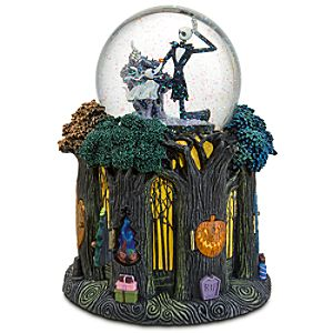 Happy Everything Jack Skellington Snowglobe