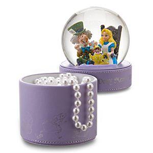 Merry Unbirthday Alice in Wonderland Snowglobe Gift Box