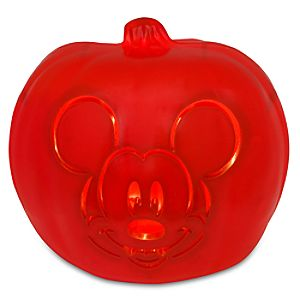 Light-Up Mickey Mouse Jack-O-Lantern
