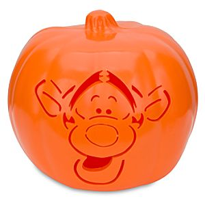 Light-Up Tigger Jack-O-Lantern