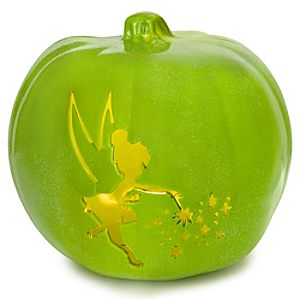 Light-Up Tinker Bell Jack-O-Lantern