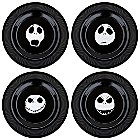 Products>Home & Decor>Kitchen & Dinnerware>Entertaining> - Jack Skellington Plate Set -- 7'' -- 4-Pc.: Sizes