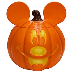 Mickey Mouse Halloween Cookie Jar
