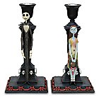 Products>Home & Decor>Kitchen & Dinnerware>Entertaining> - Tim Burton's The Nightmare Before Christmas Candlestick Set -- 2-Pc.: Sizes