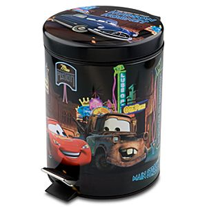Disney Cars Step-On Waste Basket