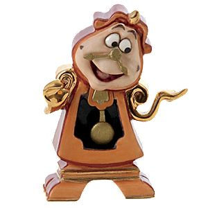 WDCC Meticulous Major Domo Cogsworth Figurine -- Enchanted Size