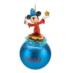 2010 Sorcerer Mickey Mouse Ornament