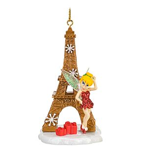 Eiffel Tower Tinker Bell Ornament