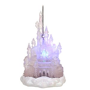 Light-Up Disney Castle Ornament