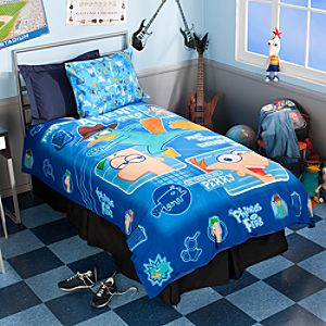 Phineas and Ferb Duvet Cover - Twin