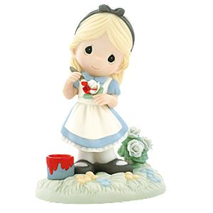 You Make My World a Wonderland Alice Figurine by Precious Moments