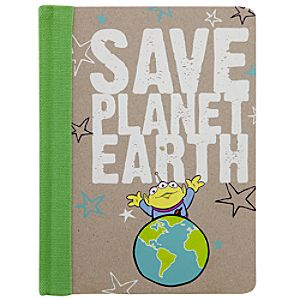 Earth Day Toy Story Alien Journal