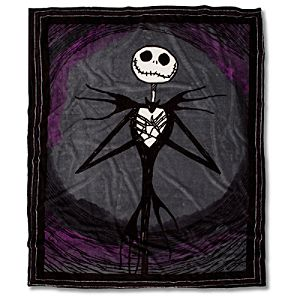 Jack Skellington Fleece Throw Blanket
