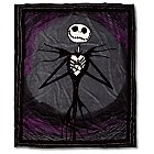Products>Home & Decor>Bed & Bath>Throws> - Jack Skellington Fleece Throw Blanket: Sizes