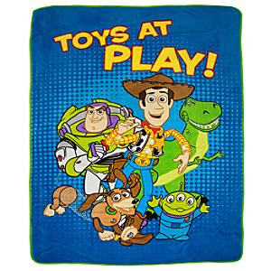 Toy Story Fleece Throw Blanket