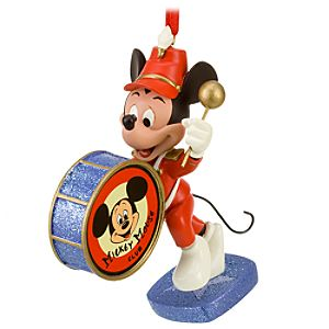 Band Leader Mickey Mouse Ornament