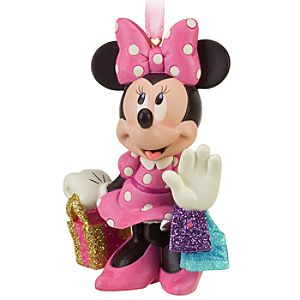 Shopping Minnie Mouse Ornament
