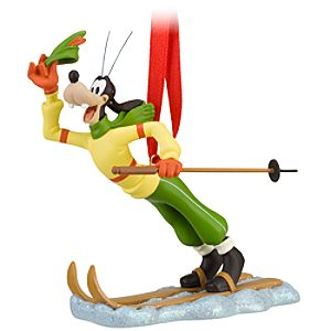 Skiing Goofy Ornament
