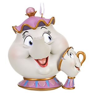 Mrs. Potts and Chip Ornament