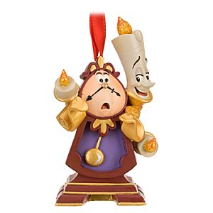 Cogsworth and Lumiere Ornament