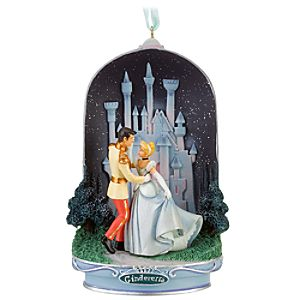 Light-Up Prince Charming and Cinderella Ornament