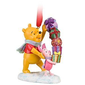 Piglet and Winnie the Pooh Ornament