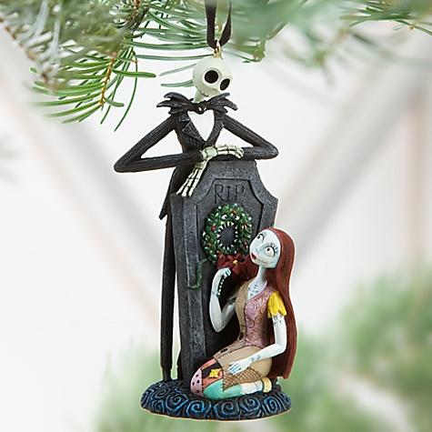 Ornament nightmare before christmas nwt disney store ebay - Jack skellington christmas decorations ...