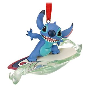Surfing Stitch Ornament